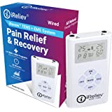 iReliev TENS + EMS Combination Unit Muscle Stimulator for Pain Relief & Arthritis & Muscle Strength - Treats Tired and…