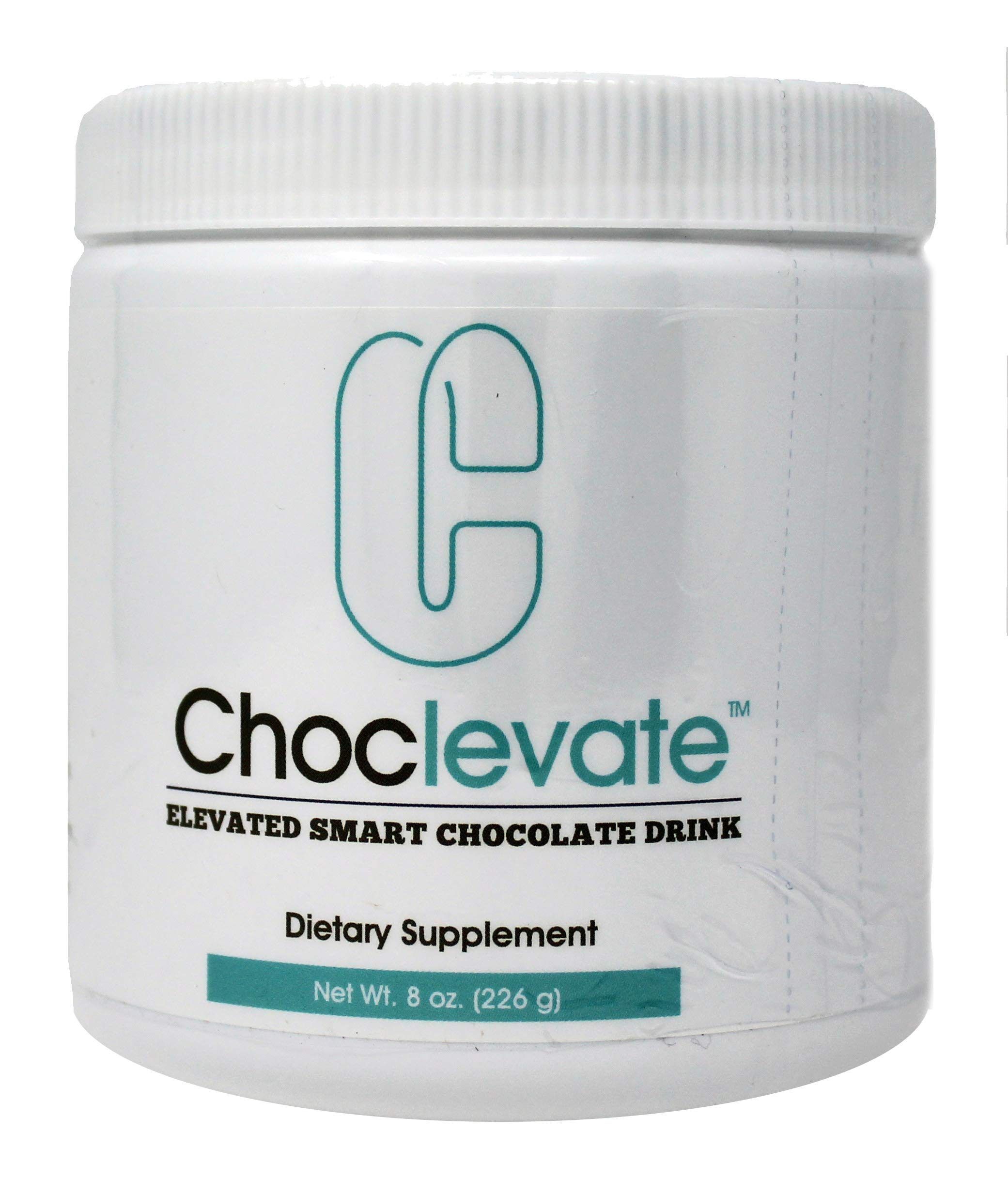 Elevacity Choclevate 8 ounces (226 grams) 8 Grams Per Serving, 30 servings/Container 35 Calories and 5 milligrams Caffeine/Serving Original Formula by Elevacity