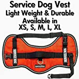 """Service Dog Vest Harness - Light Weight But Durable - Available Sizes 18"""" - 38"""""""