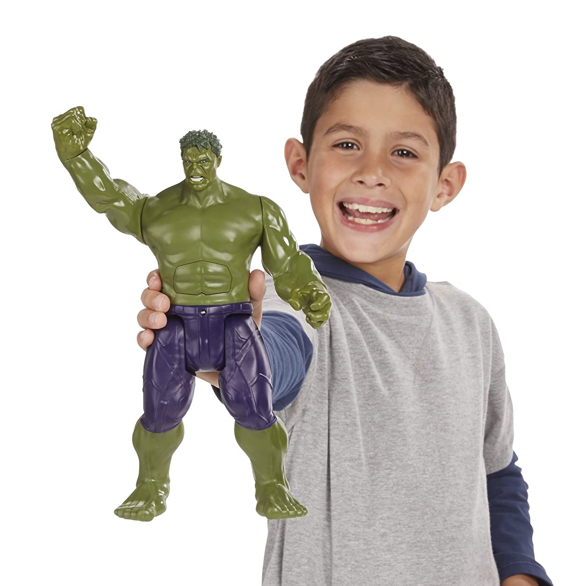 Marvel Avengers Titan Hero Tech Hulk Figure