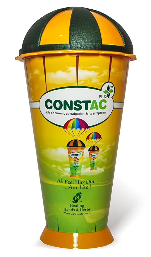 Constac Plus for Chronic Constipation - Strong, Safe, Clinically Proven  Ayurvedic Granules 100g