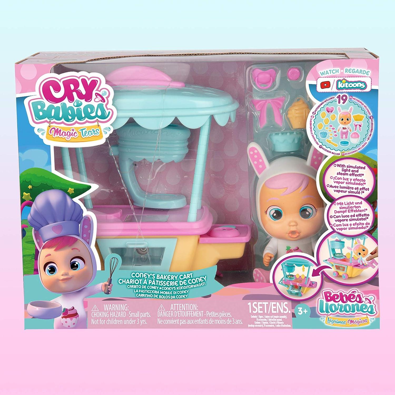 Playset Casa Magica Di Katie 3 Anni Cry Babies Magic Tears Confezione Di 3 Unita /& Toys Cry Babies Magic Tears Bambola In Capsula 97940 Imc Toys Multicolore