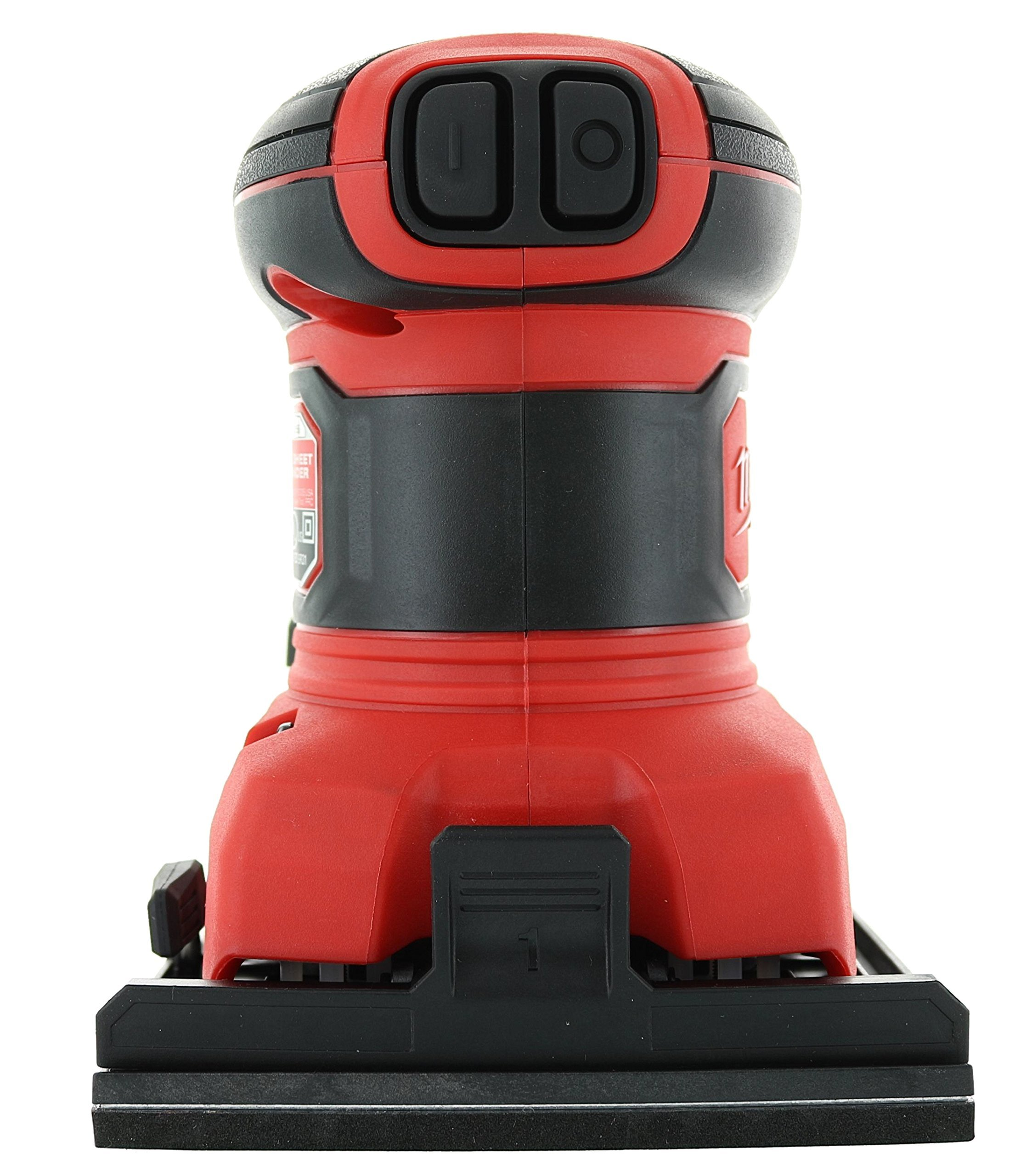 Milwaukee 6033-21 3 Amp 1/4 Sheet Orbital 14,000 OBM Compact Palm Sander with Dust Canister (2 Sheets of Sandpaper Included) by Milwaukee (Image #5)