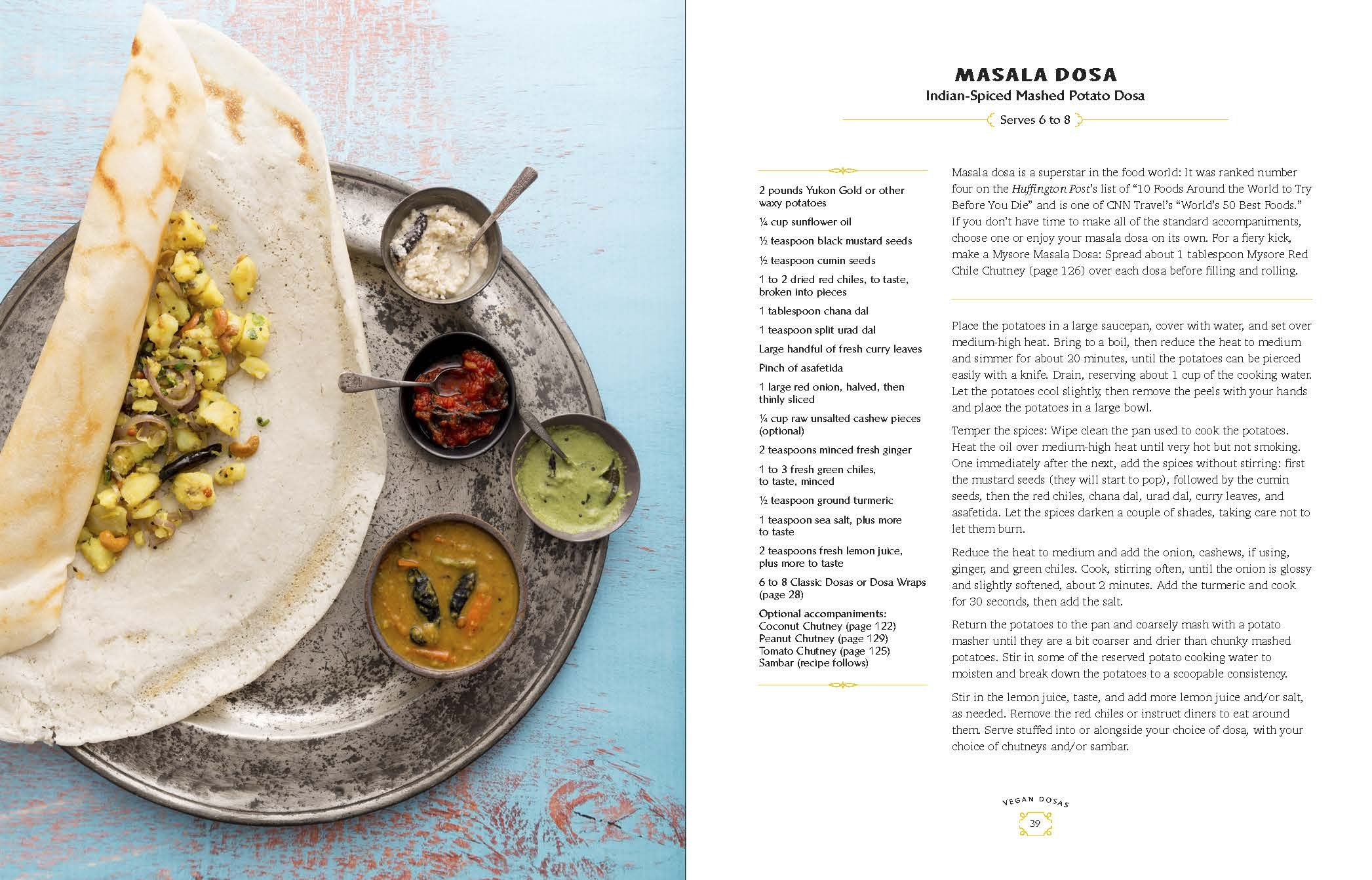 Buy Dosa Kitchen: Recipes for India's Favorite Street Food