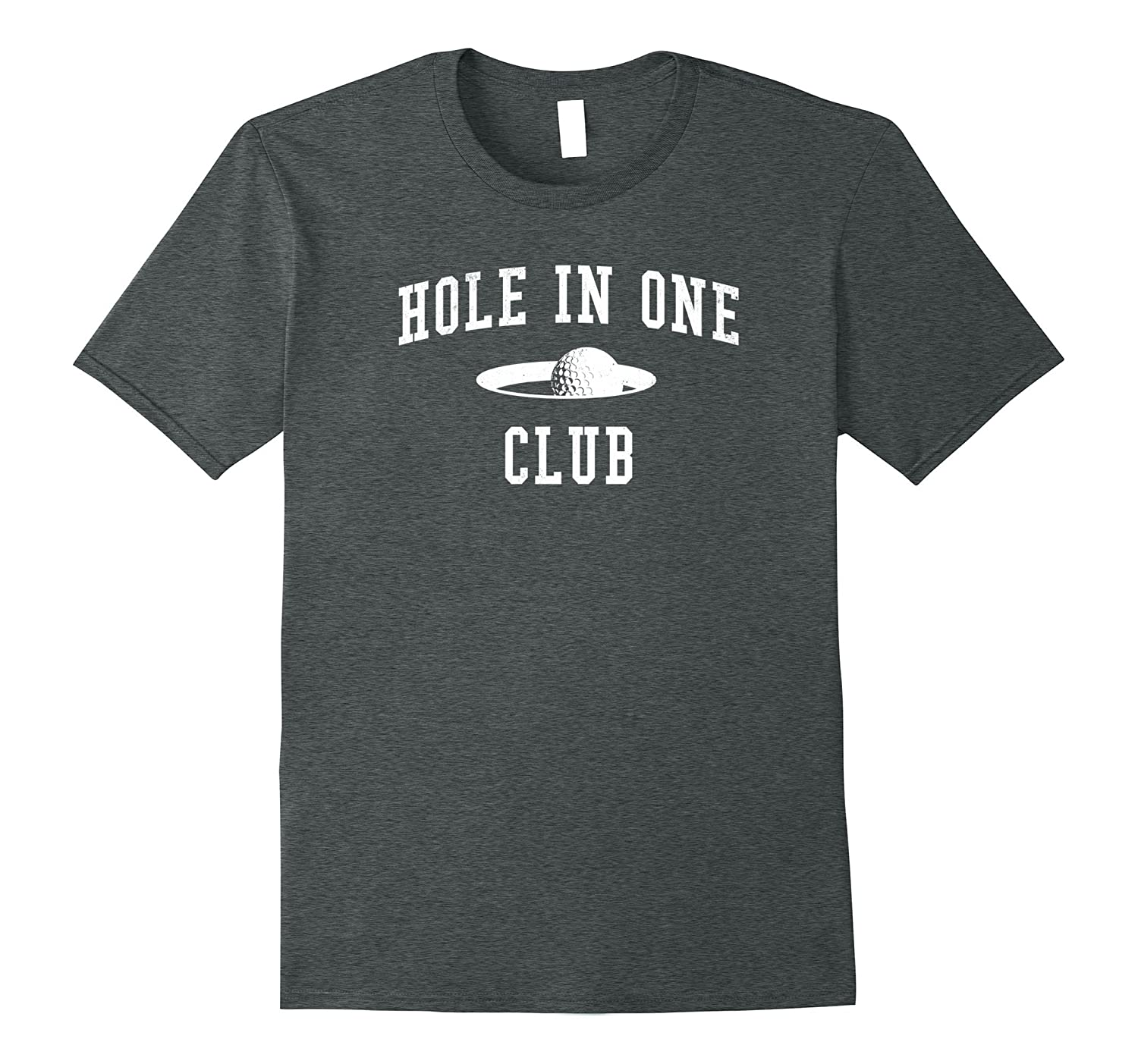 Golf Course Golfer Shirt Hole In One Club Ball And Cup Tee- TPT