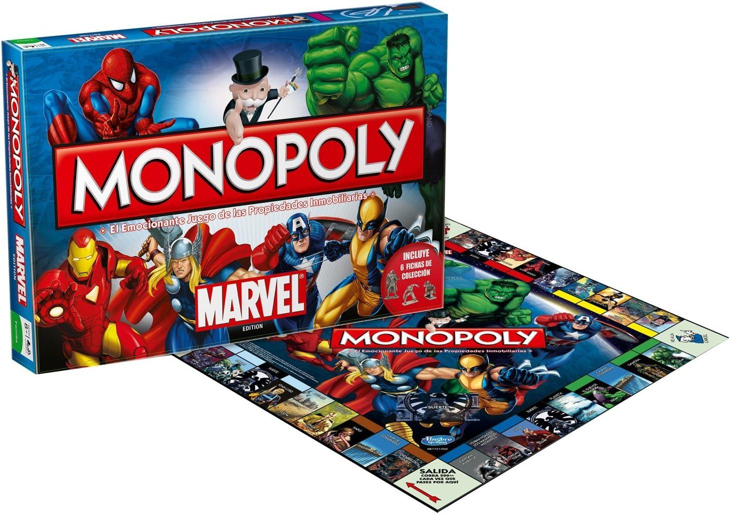 Marvel Eleven Force 82202 - Monopoly Universe: Amazon.es: Juguetes y juegos