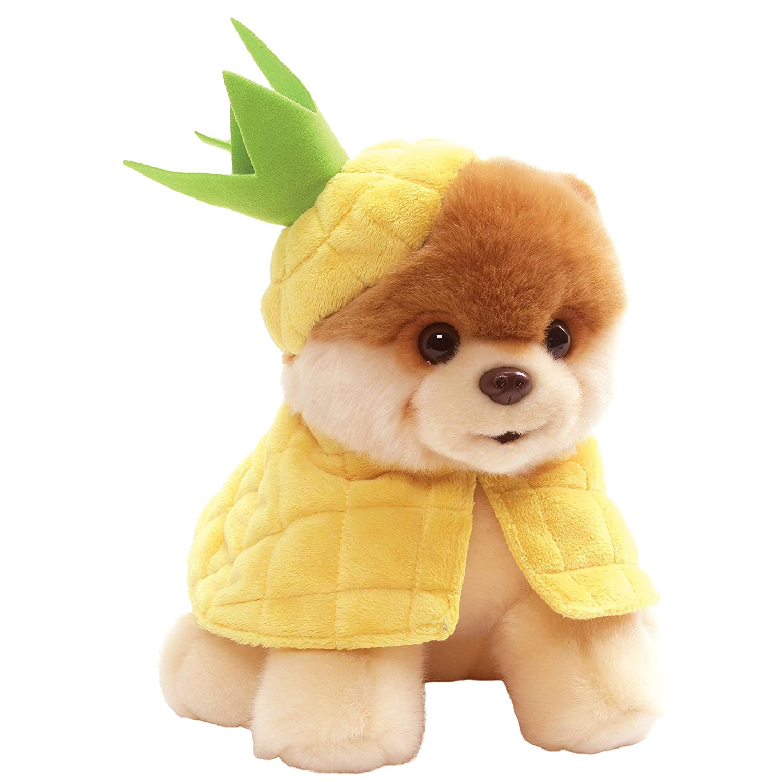 GUND Pineapple Boo Plush Stuffed Dog 9