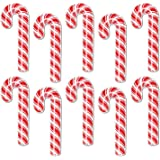 Beistle 10-Pack Mini Candy Cane Cutouts, 7-1/2-Inch