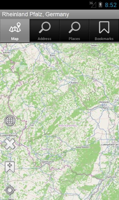 Amazon Com Rheinland Pfalz Germany Offline Map Mad Map Appstore