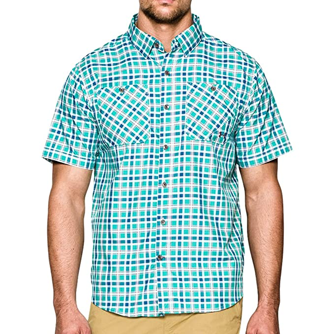 50630907b9 Under Armour Men's Ua Chesapeake S/S Plaid Shirt