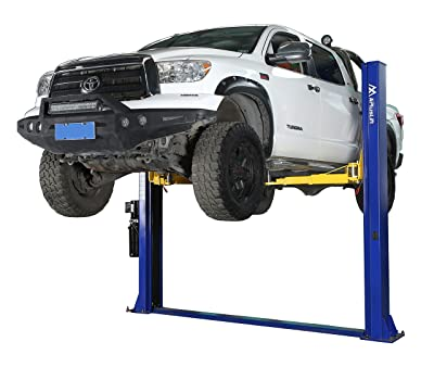 APlusLift HW-10KBP 10,000LB Two Post Floor Plate Auto Hoist Car Lift