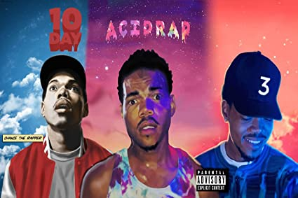 108 Coloring Book Cover Chance The Rapper HD