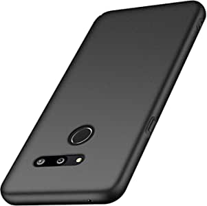 anccer Compatible for LG G8 ThinQ Case,LG G8 Case [Full Coverage] [Colorful Series] [Ultra-Thin] [Anti-Drop] Premium Material Slim Full Protection Cover for LG G8 ThinQ/LG G8 (Gravel Black)