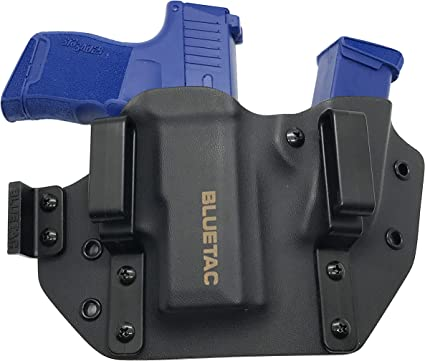 Glock 43 Kydex IWB//OWB BELT CLIP For S/&W Shield NEW KAOS Concealment Mag Pouch