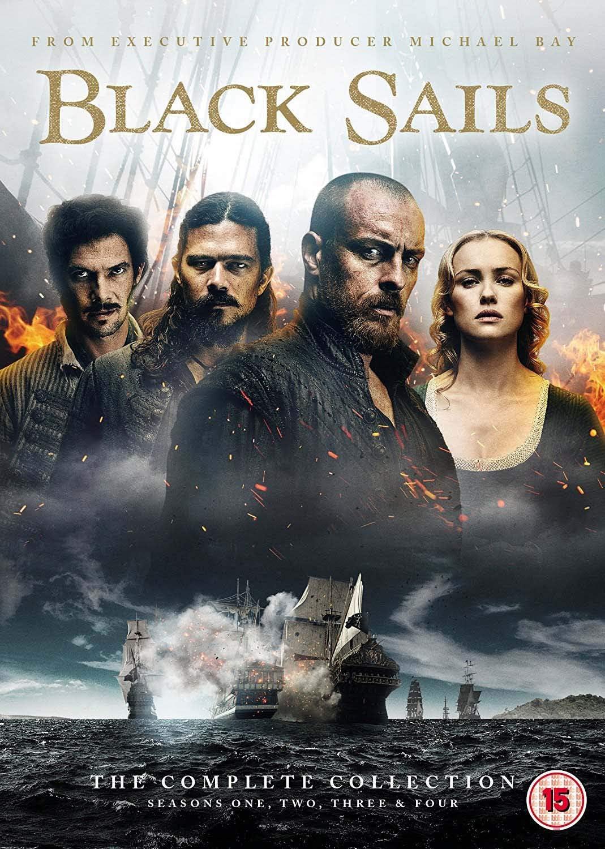 New Black Sails Captain Charles Vane CD Clock Pirates Original TV Series Nice!!