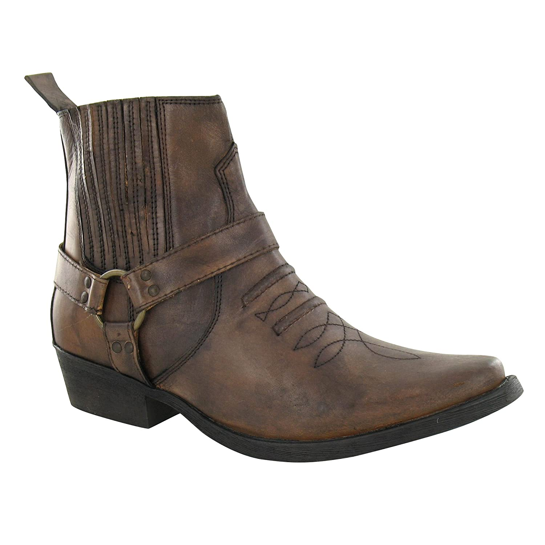 Maverick Herren Cowboy Stiefel Stiefel Cowboy A3003 Schwarz 684bb1