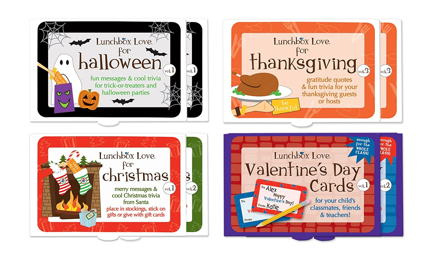 Amazon.com: Lunchbox Love Notes for Holidays by Say Please. Kind ...