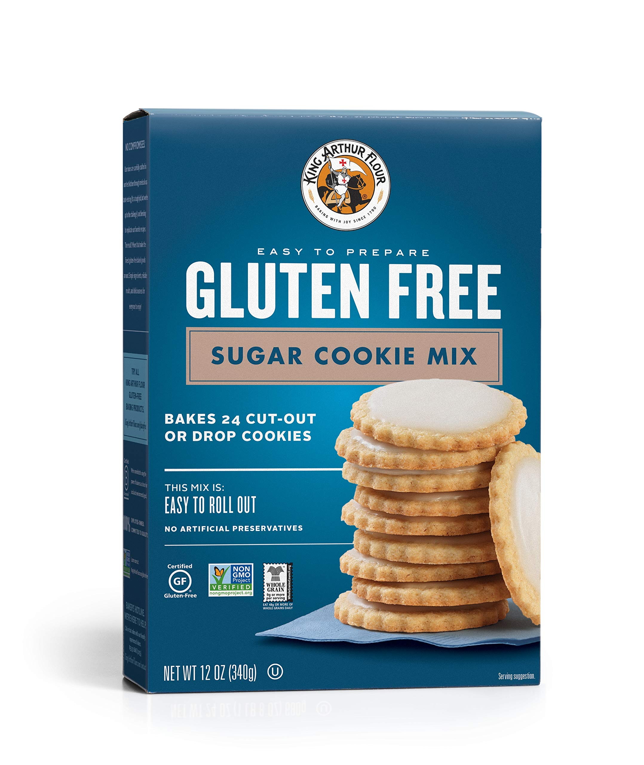 Amazon.com : King Arthur Flour - Gluten-Free Cookie Mix ...