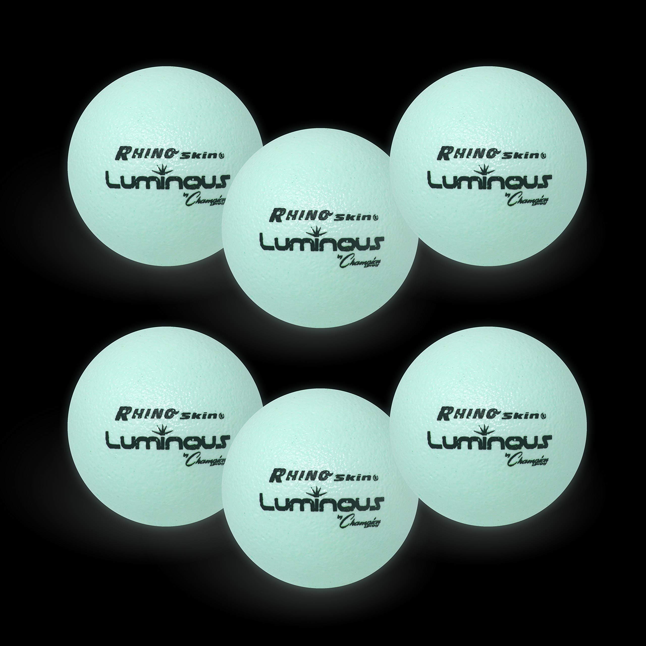 Champion Sports Rhino Skin Luminous Dodgeball Set by Champion Sports