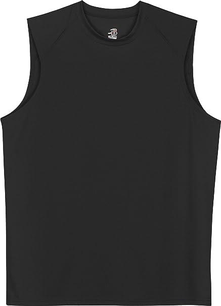 ce87ce75f924d Badger Sportswear B-Dry Sleeveless Athletic Performance T-Shirt