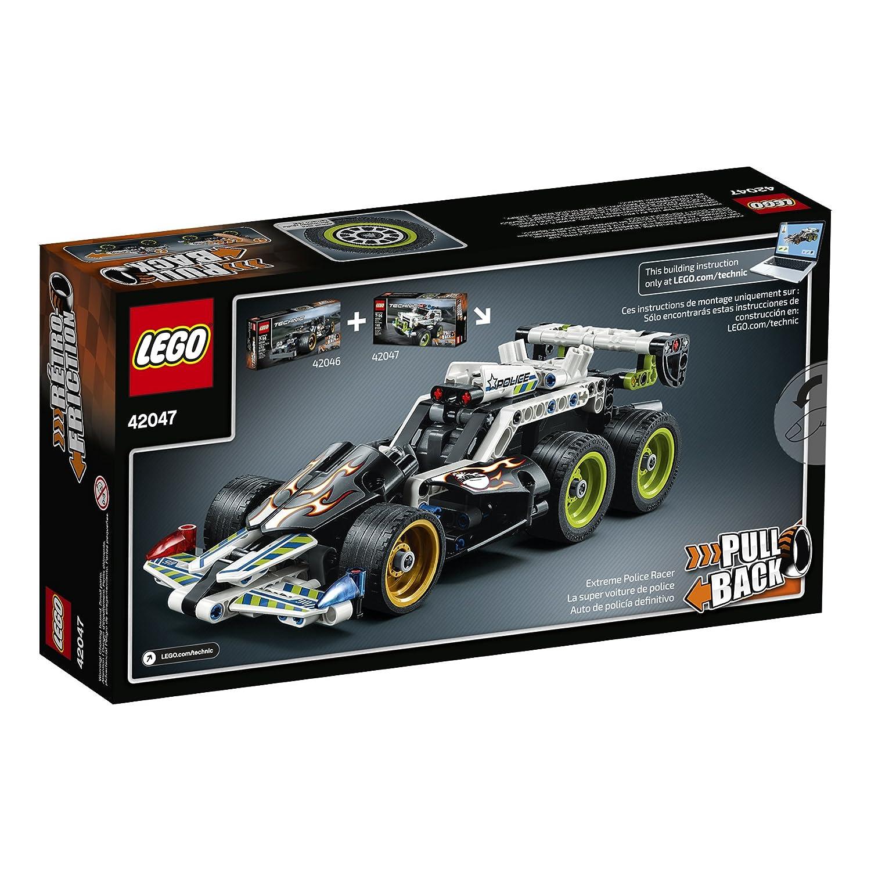 Amazoncom Lego Technic Police Interceptor 42047 Building Kit Toys