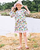 RuffleButts Baby/Toddler Girls Vintage Floral