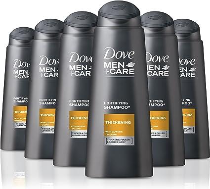 Dove – Men + care – Champú crecimiento, 400 ml (Pack de 6): Amazon ...