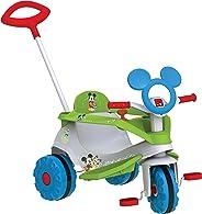 Triciclo Velobaby Disney, Mickey, Bandeirante, Branco