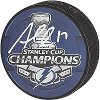 Alex Killorn Tampa Bay Lightning Autographed Champions Logo Hockey Puck - Autographed… photo