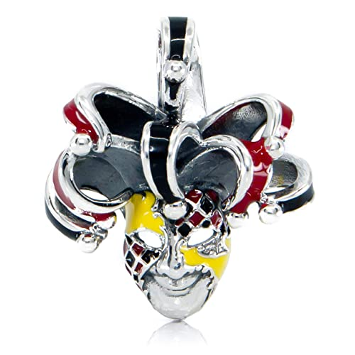 Amazon.com: Venetian Mask Sterling Silver Dangle Charm S925 ...