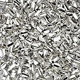 Silver Solder 预裁件各种尺寸和* Chop Chip Flux 涂层 银色 easy density ss114