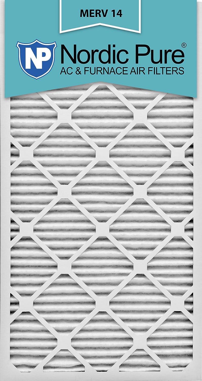 Nordic Pure 24 x 30 x 1 m14 – 6プリーツAC炉エアフィルタ、ボックスの6 B007KPYAT0