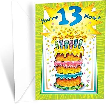 Teenager Birthday Card ~ Happy Birthday By The Design Studio Free P/&P