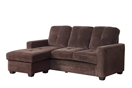 Amazon Com Homelegance 9789cf 3lc Sectional Sofa With Reversible