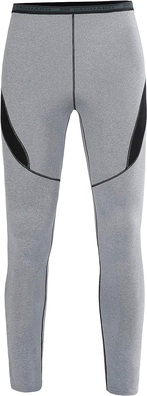 Termica Pantalones Largos Para Running Ciclismo Esqui Invierno Gris M Conjuntos Termicos Hombre Set Suit Esqui Termica Ropa Interior Termica Manga Larga Camiseta Ropa Interior Termica Conjuntos Termicos