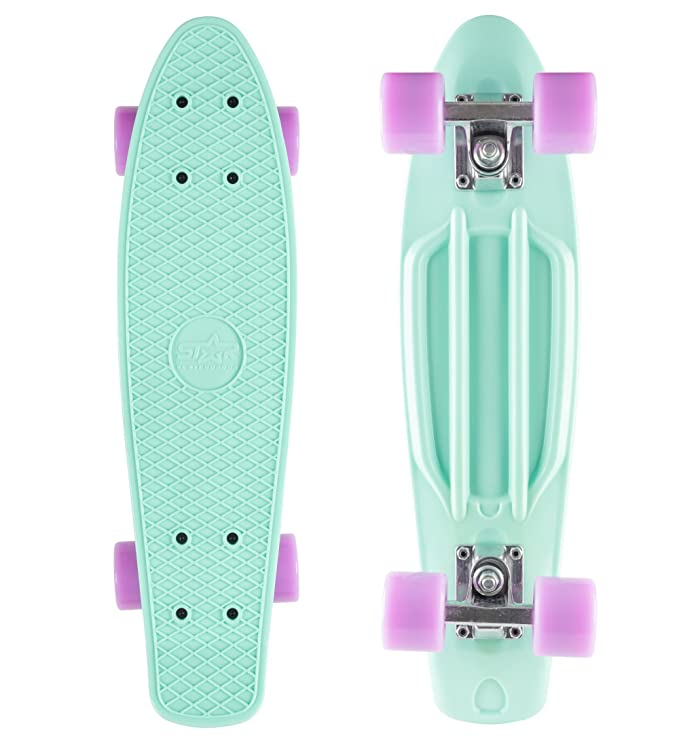 22 opinioni per STAR-SKATEBOARDS® Vintage Cruiser Board ★ Edizione 22ª Diamante Categoria ★