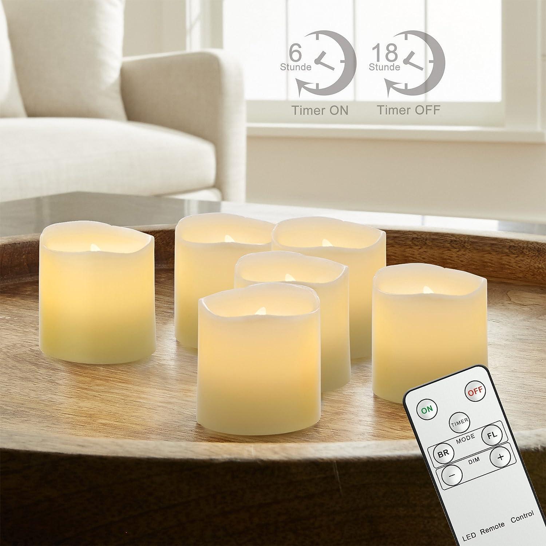 81QQxjiBFtL._SL1500_ Elegantes Elektrische Kerzen Mit Fernbedienung Dekorationen