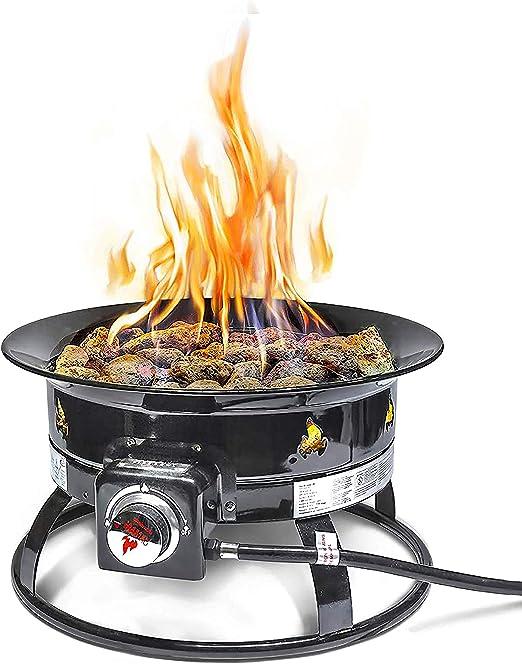 Outland Firebowl 823 Outdoor Portable Propane Gas Fire Pit 19 Inch Diameter 58 000 Btu Amazon Ca Patio Lawn Garden