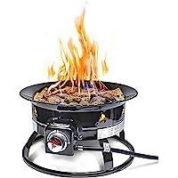 Outland Living Model 823 Portable Propane Fire Pit, Black