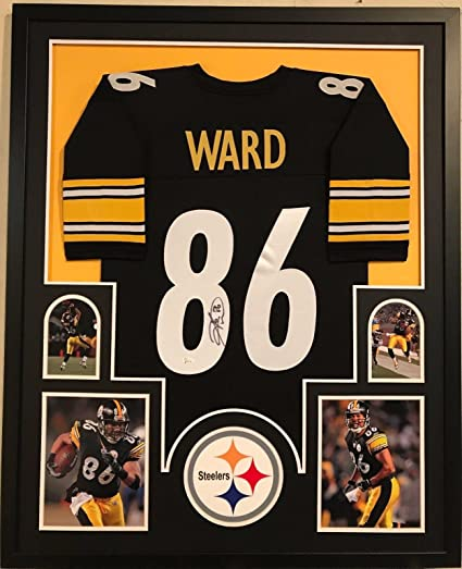 407900136fd Hines Ward Autographed Jersey - Framed - JSA Certified - Autographed NFL  Jerseys