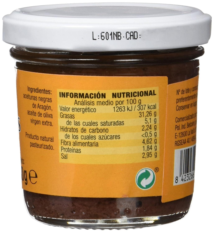 Granovita 50091, Pate de aceitunas negras, 100 gr: Amazon.es: Alimentación y bebidas