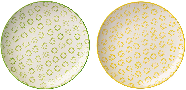 Bloomingville Carla Plates Diameter 20 cm Set of 2