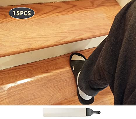15 Pack(4u201dx 24u201d),Non Slip Stair Tread Anti