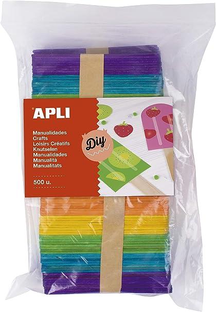 APLI Kids 17453 - Palos Polo Maxi de Madera en Colores Surtidos ...