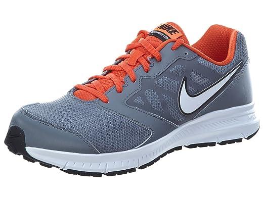 Nike Downshifter 6 Running Shoe-Cool Grey/Team Orange/Hyper Crimson/White
