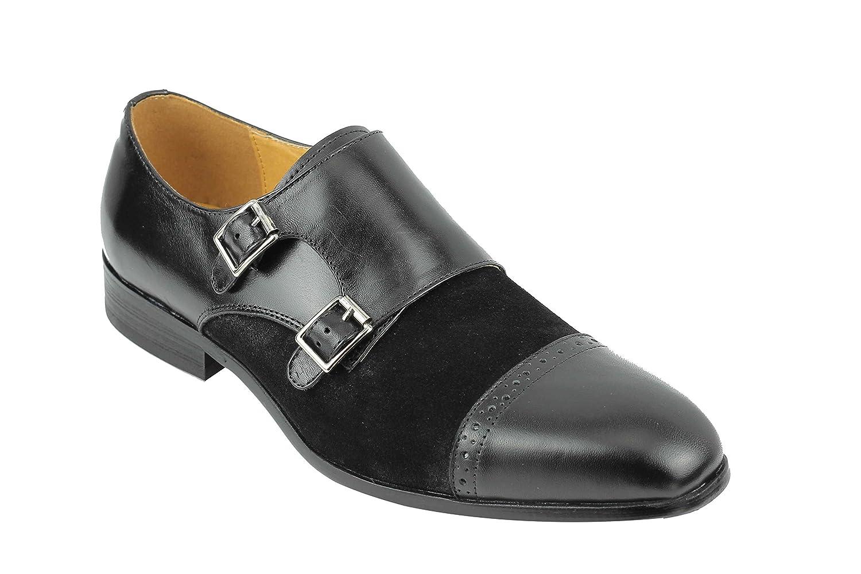 TALLA 41 EU . Xposed - Zapatos Monk Hombre