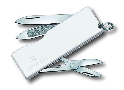 Amazon.com: Victorinox Swiss Army Tomo cuchillo color blanco ...