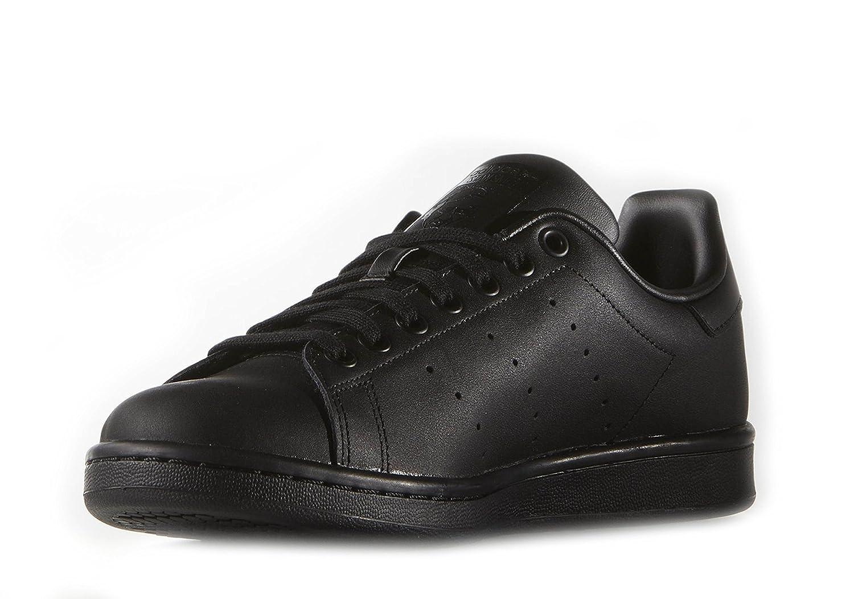 new concept 44f7c af10f Amazon.com  Adidas Stan Smith Core BlackBlackBlack M20327 Mens 7.5   Fashion Sneakers