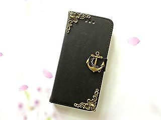 Anker Handy Leder Brieftasche Fall handgemachte Handy Brieftasche Abdeckung für iPhone X 6 6s 7 8 Plus Samsung Galaxy S9 S8 Plus S7 Edge Note 8 Note 9 Case Cover MN0005
