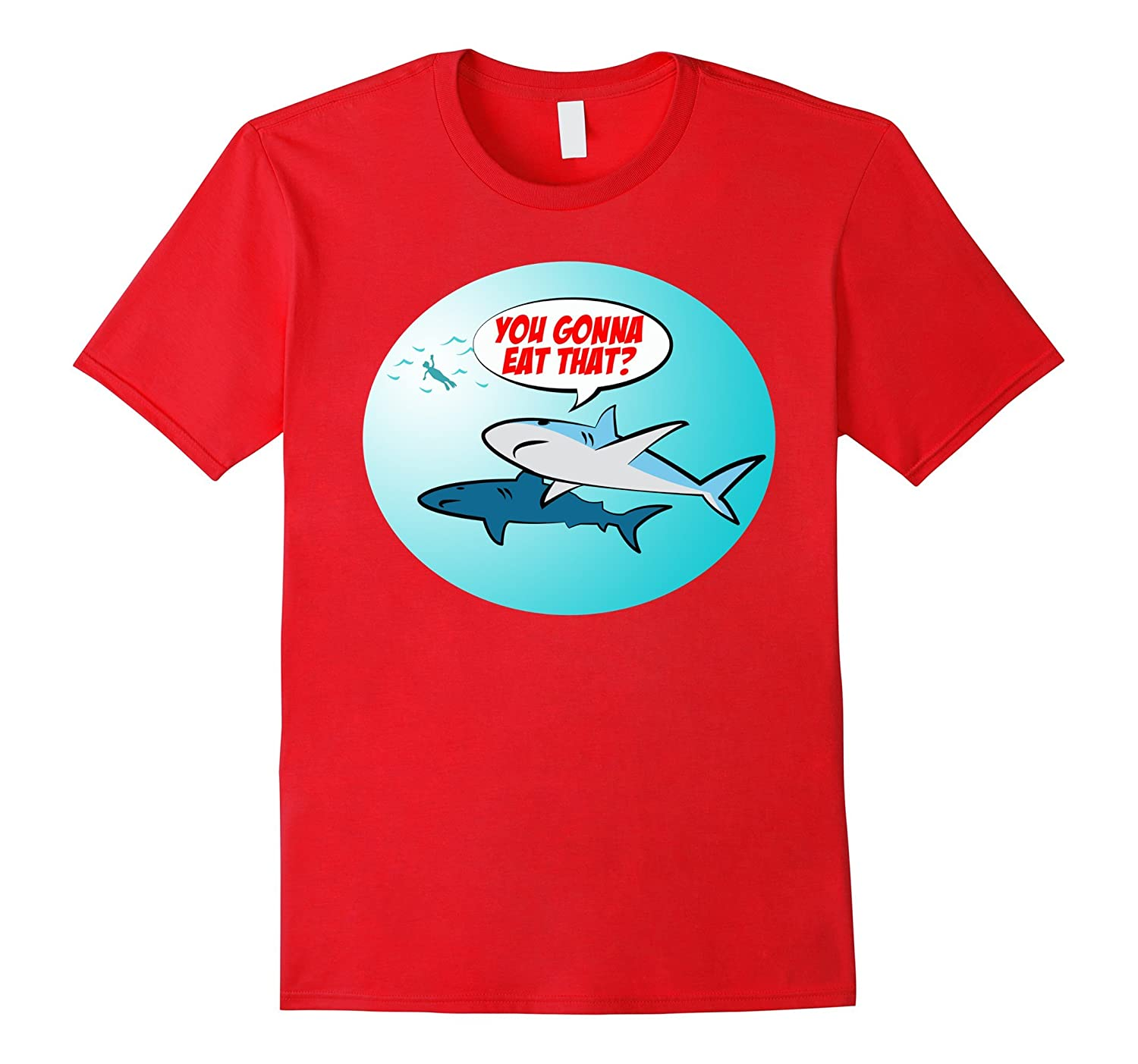 Funny Shark Lover T-Shirt-TH